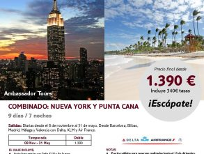 NEW YORK + PUNTA CANA