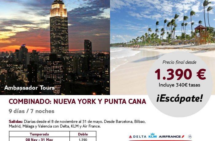 NEW YORK + PUNTA CANA